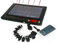 Cep telefonu ve laptop'lar için solar batarya