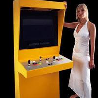 Retro Space: Core 2'li arcade makinesi