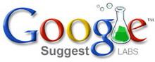 Google Suggest web'de arama yapmayı hızlandırıyor