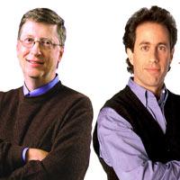 Gates'li ve Seinfeld'li MS reklamı: İzleyin!