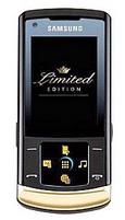 Siyah-altın rengiyle Samsung U900 Soul