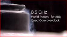 Phenon II X4 6,5 GHz'e overclock edildi