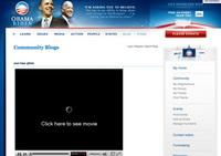 Obama'nın ana sayfası zararlı yazılım dağıtıyor