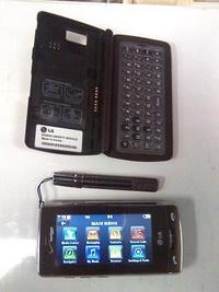 LG VX9600: Takılabilir klavyeli akıllı telefon