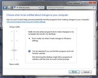 Windows 7: Microsoft UAC'yi değiştirecek