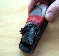 Patlayan cep bataryası olayında yeni gelişme