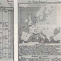 19 Şubat 1855'te ilk hava raporu yayınlandı