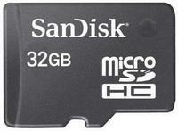 SanDisk: 32 GB'lık microSDHC kart