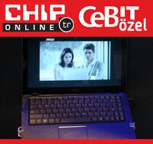 CeBIT 2009: MSI'dan incecik bir laptop serisi