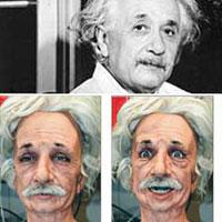 Büyük dahi Einstein bu robotta dirildi...