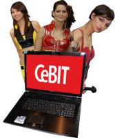 CeBIT 2009'dan göze çarpan kareler...