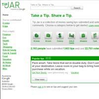 Google TipJar: Paranız varsa bu siteye girin