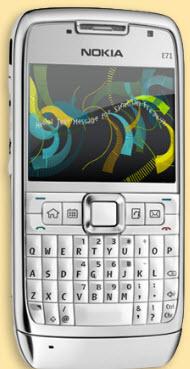 Text Art: Nokia E71'e özel uygulama!