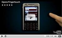 Opera Fingertouch ile daha kolay navigasyon