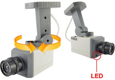 Bu da sahte güvenlik kamerası!