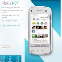 Bir bakışta Nokia N97: Teknik özellikler