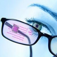Bu OLED gözlük ile tüm veriler gözünüzün önünde