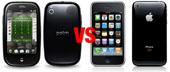 iPhone 3G S Palm Pre'ye karşı