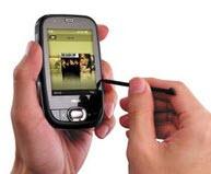 Glide teknolojisine sahip ilk PDA telefon