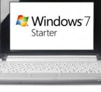 Windows 7 Starter kullanıcılarına kötü haber