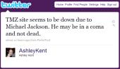 Michael Jackson'ın ölümü interneti de vurdu