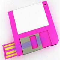 Bir zamanların efsanesi disket geri döndü