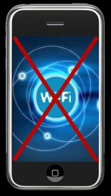 iPhone ama Wi-Fi'si yok! Çin esintisi!