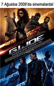 G.I. JOE filmini herkesten önce izleyeceğiz!