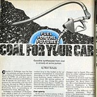 Kömürle çalışan araba olur mu?