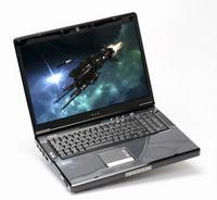 Üç sabit diskli bir oyuncu-notebook'a ne dersiniz?