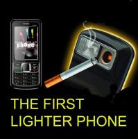 Çakmaklı cep telefonu: Bir bu eksikti!