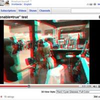 YouTube 3 boyutlu video denemelerine başladı!