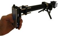 Cep telefonun mikroskop yapan garip icat!