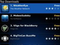 Blackberry: App World çok yakında sizlerle
