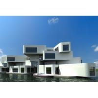 Hollanda'da yüzen ev devri başlıyor mu?