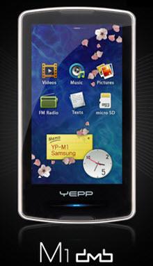 Samsung'dan PMP: Ona iPod katili demeyin!