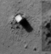 Mars'ta gizemli dikilitaş ve komplo teorileri