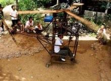 El yapımı tahta helikopter: Tabii ki Çin'den