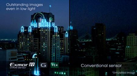 Sony'nin yeni algılayıcısı geceyi aydınlatacak