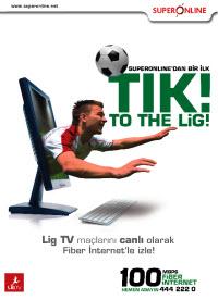 Lig TV'yi internetten izlemek artık mümkün!