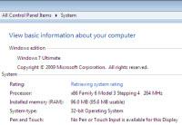 Windows 7 eski bir Pentium II'de çalışır mı?
