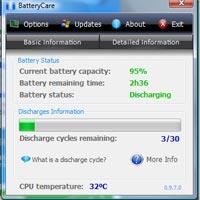 BatteryCare: Laptop'unuza bedava pil dopingi!