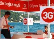 Vodafone 3G+ İstanbul Boğazı'nda şov yaptı