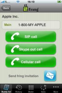 App Store'da iPhone için fring uygulaması