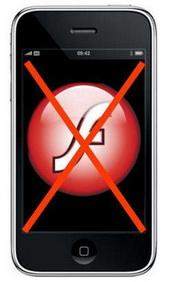 iPhone'da Flash: Bekleyişe devam