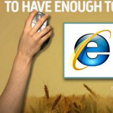 Internet Explorer 6'yı bitirme kampanyası