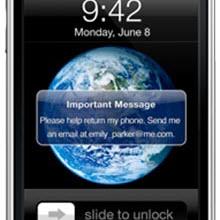 Find My iPhone iş başında!