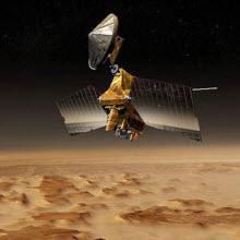 NASA'dan Mars'ın kraterleri, sel yatakları...