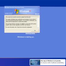 Microsoft'un WGA tanımı