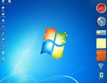 Win 7: XP ve Vista için ücretsiz kenar çubuğu